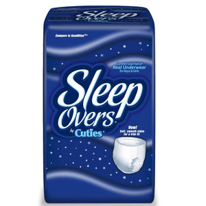SleepOvers Youth Pants: Overnight Protection for older children with nighttime incontinence episodes