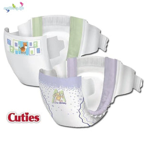 Cutie Baby Diaper From Newborn to size 6 Diaper for boys and girls, product illustration
