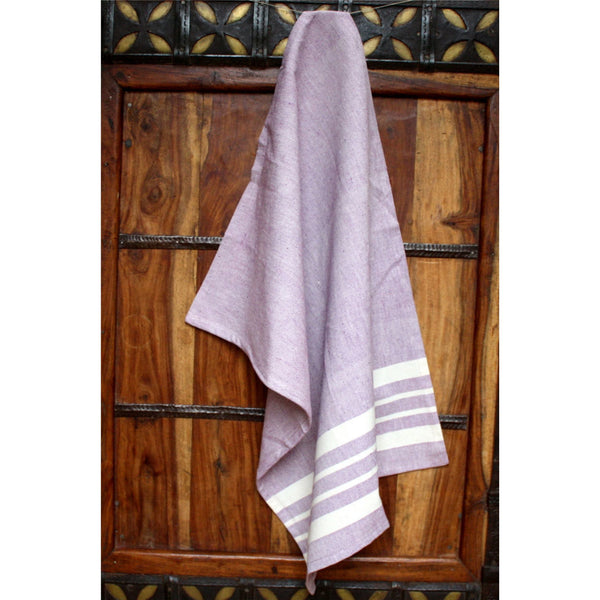 Lavender Cotton Kitchen Towel - Sustainable Threads (L)