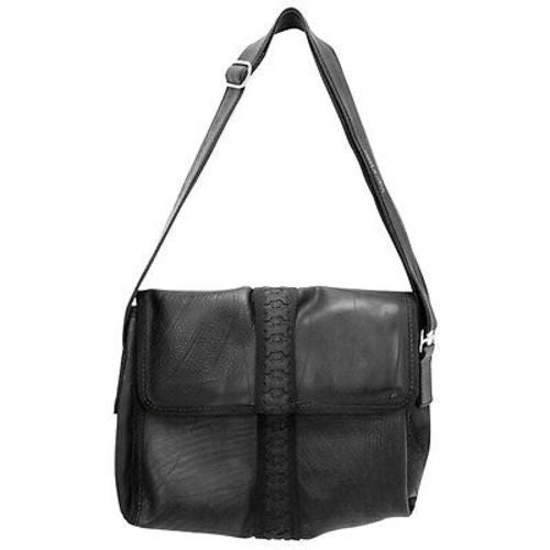 Recycled Tire and Inner Tube Messenger Bag - Conserve
