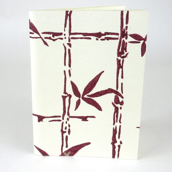 Wine Bamboo Soft Journal - Sustainable Threads (J)