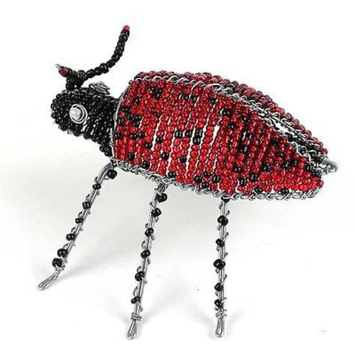 Handmade Beaded Lady Bird - South Africa
