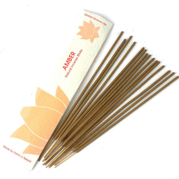 Stick Incense, Amber -10 Stick Pack