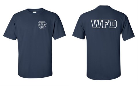 WFD - T-shirt - Navy Blue - 50/50% COTTON