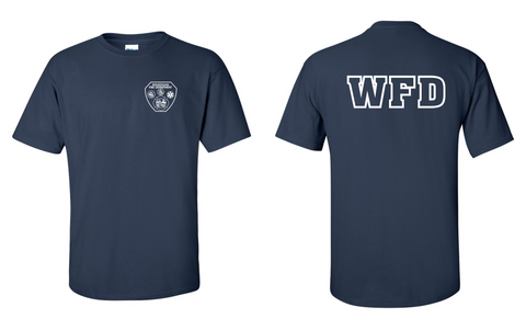 WFD - T-shirt - Navy Blue - 100% COTTON