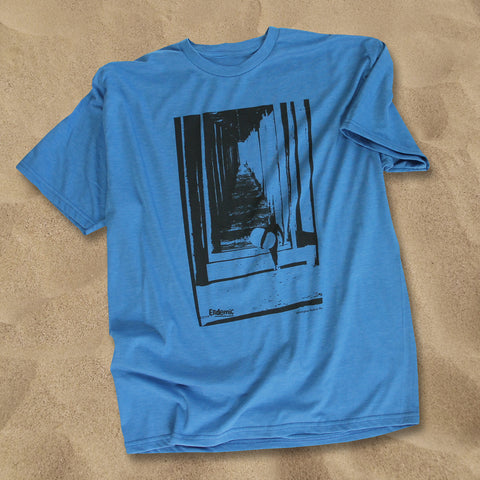 The Pier Huntington Beach T Shirt - Endemic Surfwhere?