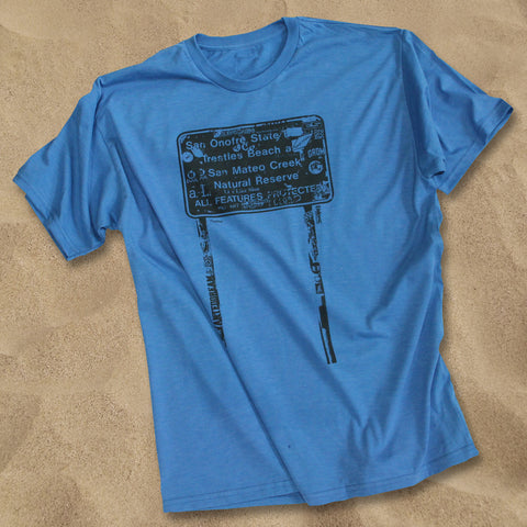 Stickerd Up Trestles T Shirt - Endemic Surfwhere?