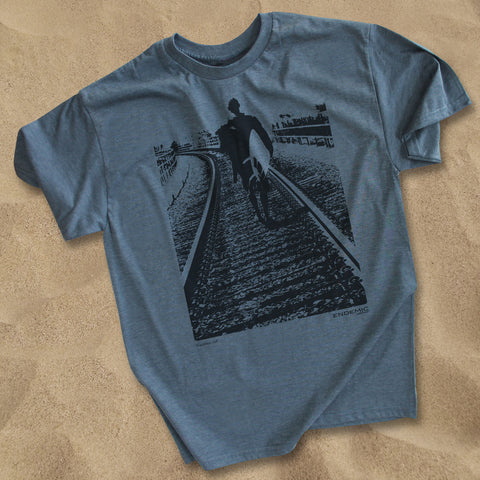 Train Tracks Trestles T Shirt - Endemic Surfwhere?  - 1