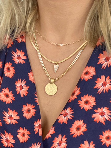 3 Layer Queen Necklace