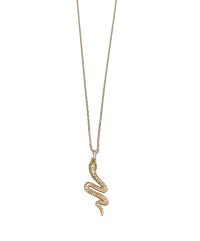 Charmer Snake Necklace