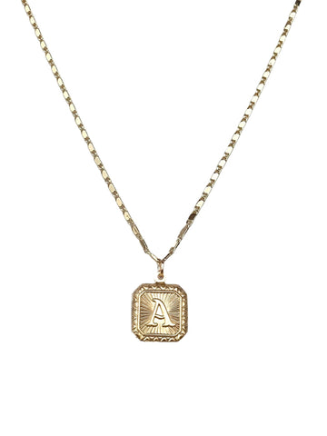 Beloved Initial Necklace