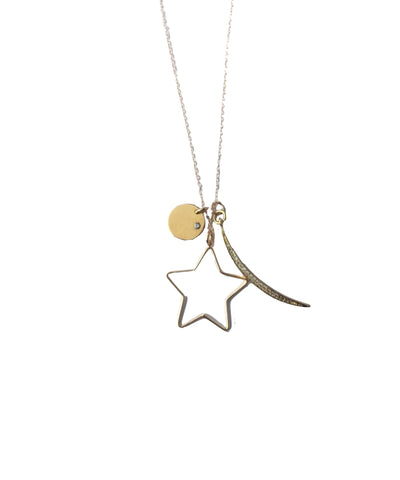 Dainty Star Gazer Necklace