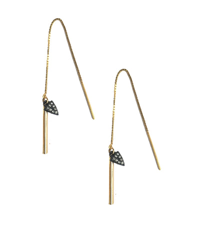 Bar & Triangle Ear Threaders