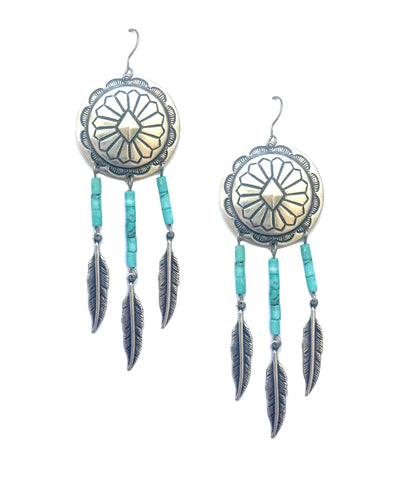 Statement Dreamcatcher Earrings