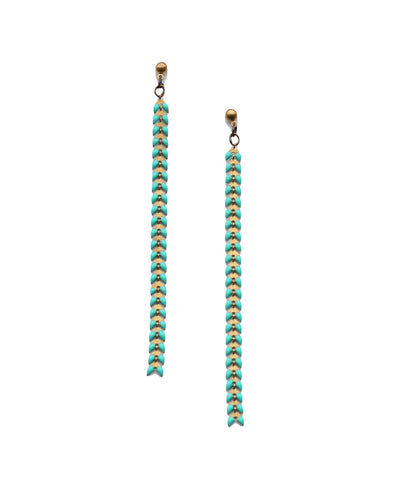 Earrings Turquoise Fishtail