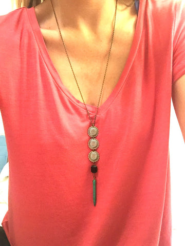 Spike Apache Necklace
