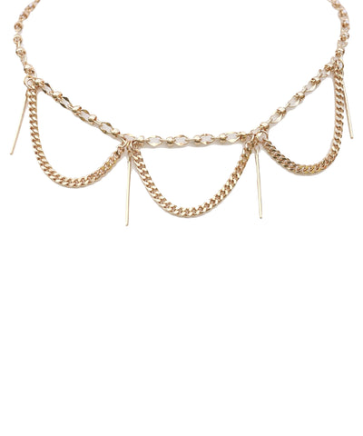 Gold Night Fever choker