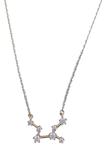 1 Constellation Star Signature Zodiac Necklace