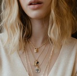 Wanderer Compass Necklace