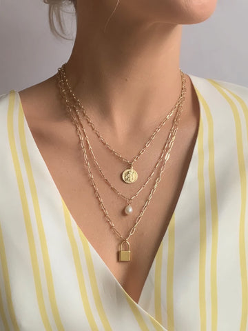 3 Layer Hidden Path Necklace