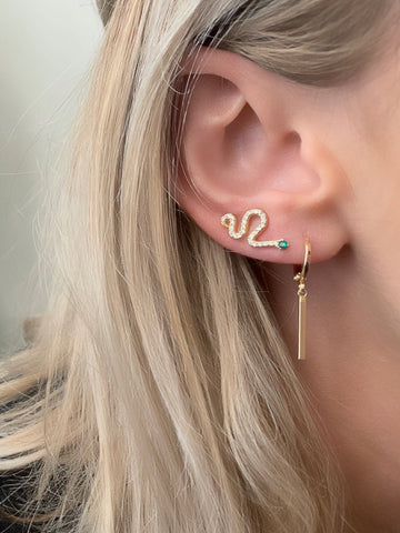 Slither Ear Climber Earrings