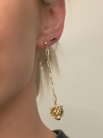 Tiger Queen Earrings