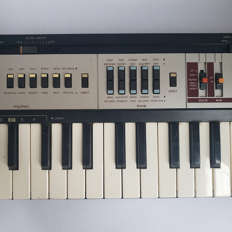 Casio MT-400V with Resonance Mod