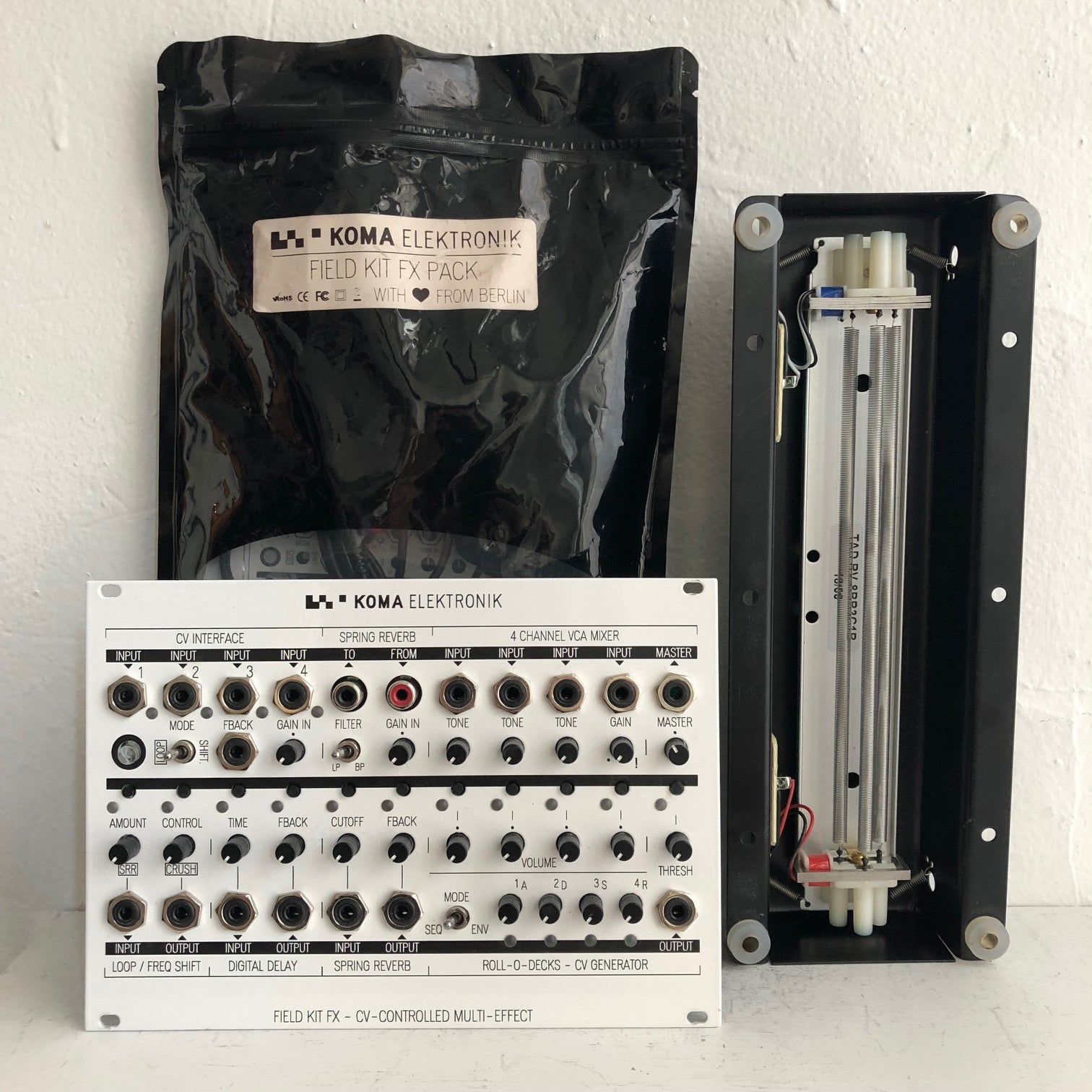 KOMA Elektronik Field Kit FX Eurorack Version + Expansion Pack
