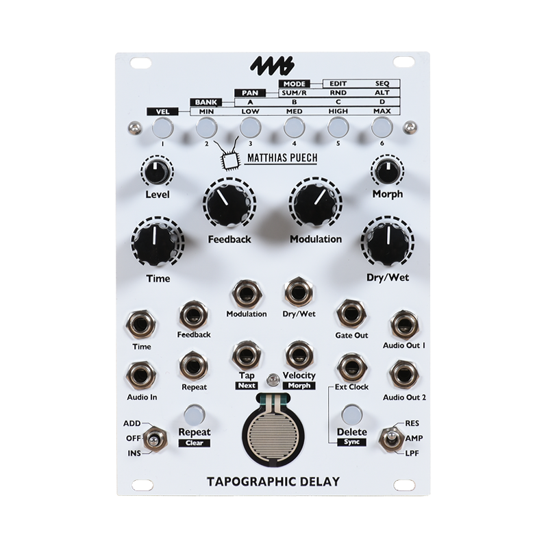 Tapographic Delay