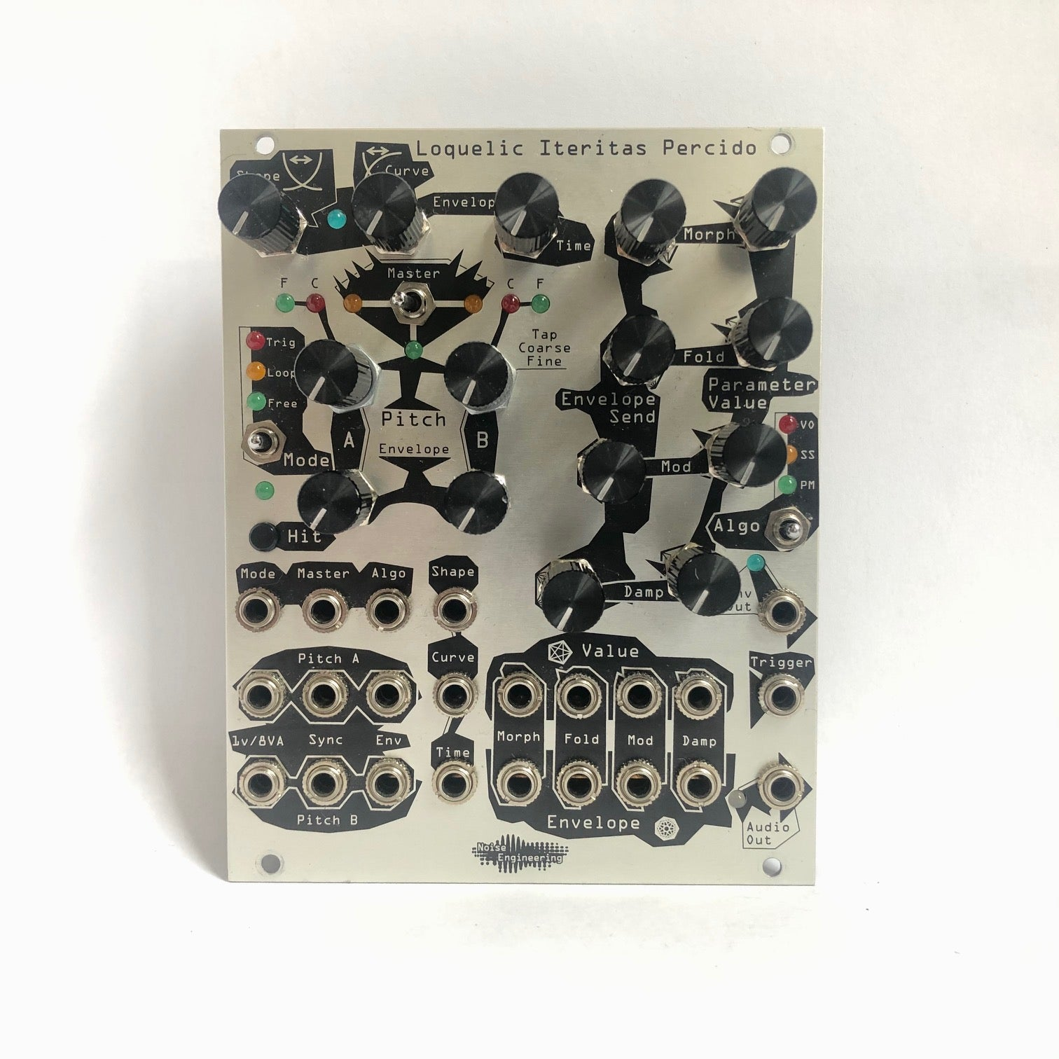 Noise Engineering Loquelic Iteritas - Digital Oscillator (Silver)
