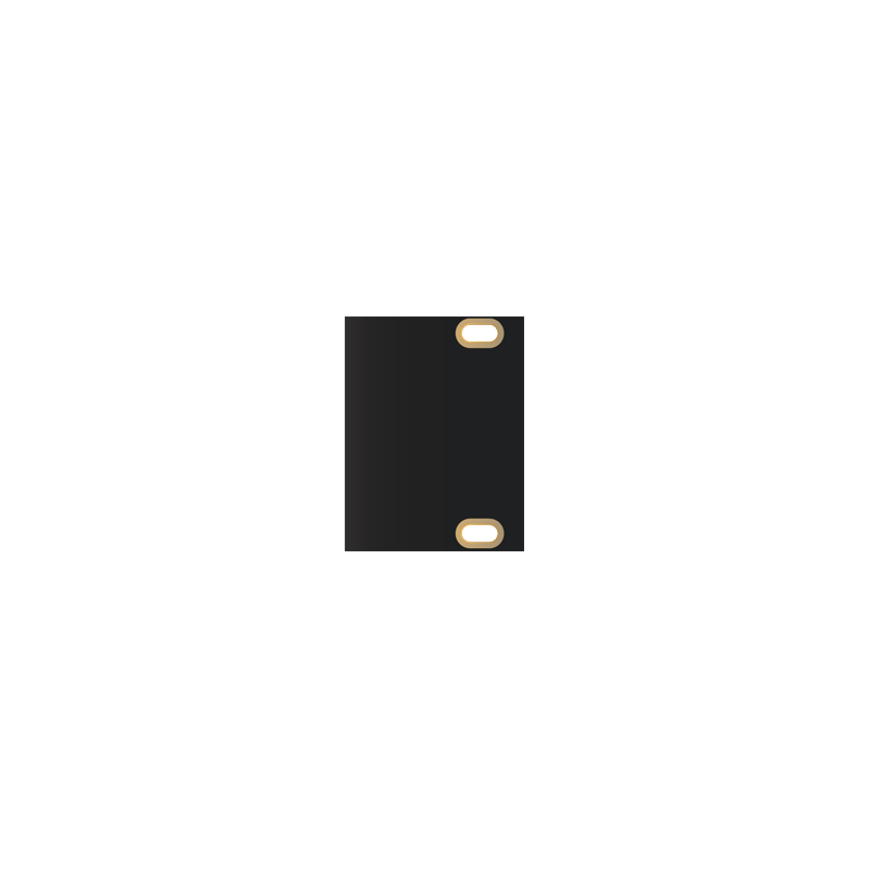 1U Black PCB Blank Panels 2HP, 4HP, 6HP, 8HP, 20HP - For Intellijel 1U Cases