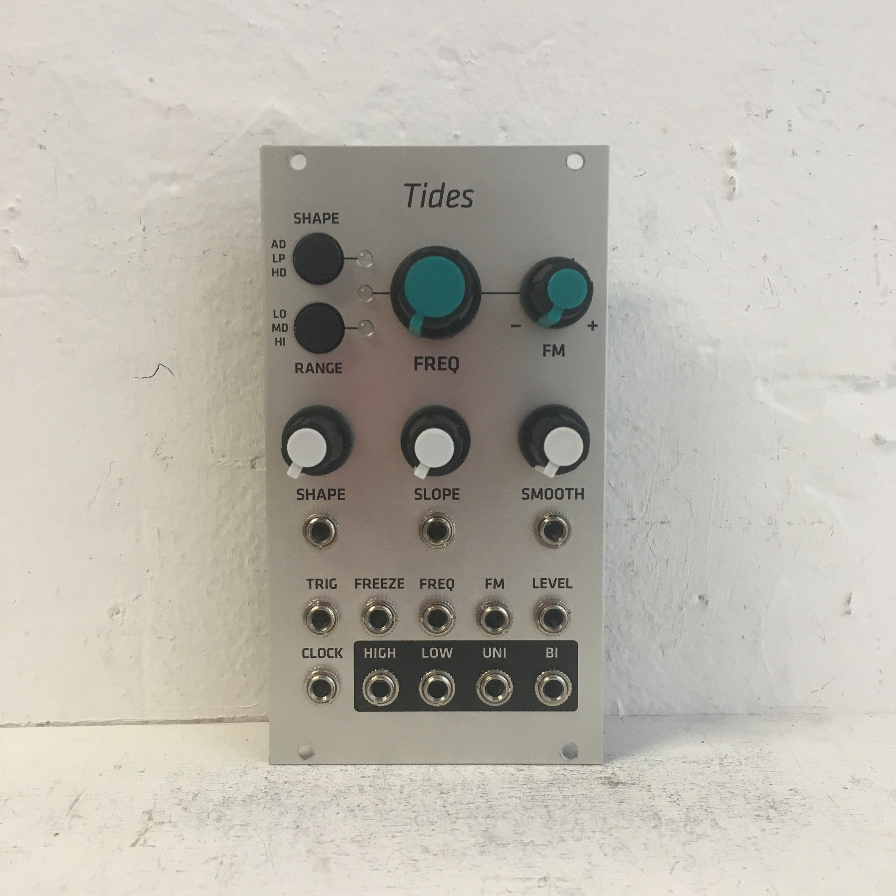 Mutable Instruments Tides w/ Grayscale Panel