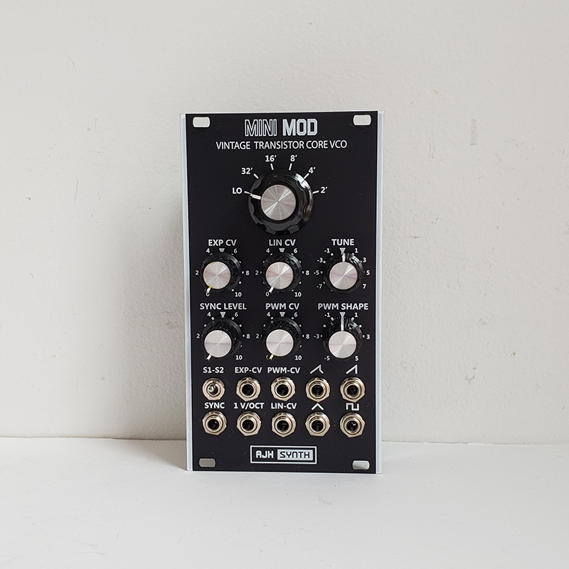 AJH Synth MiniMod VCO - Black