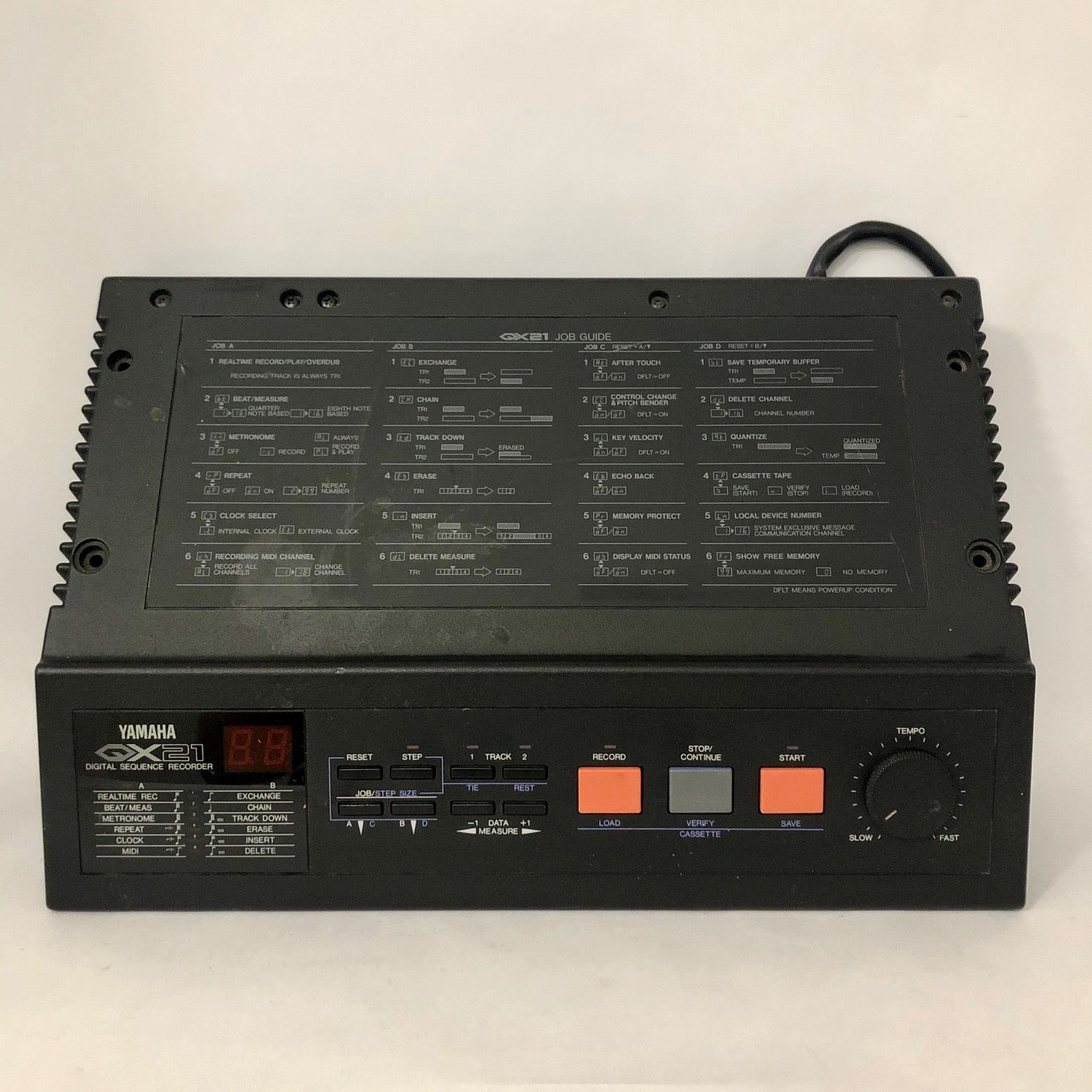 Yamaha QX21Digital Sequencer Recorder