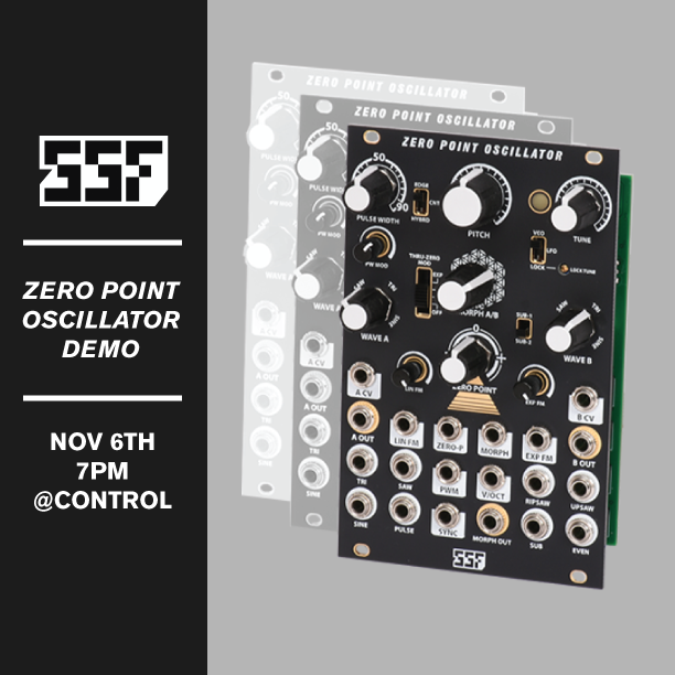 SSF Zero Point Oscillator In-Store Demo!