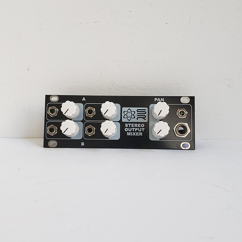 Sythrotek 1U Stereo Output Mixer (Not Comptible with Intellijel Cases)