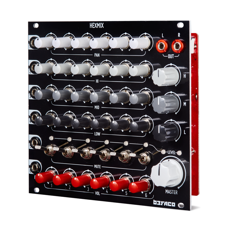 HexMix 6-Channel Performance Mixer