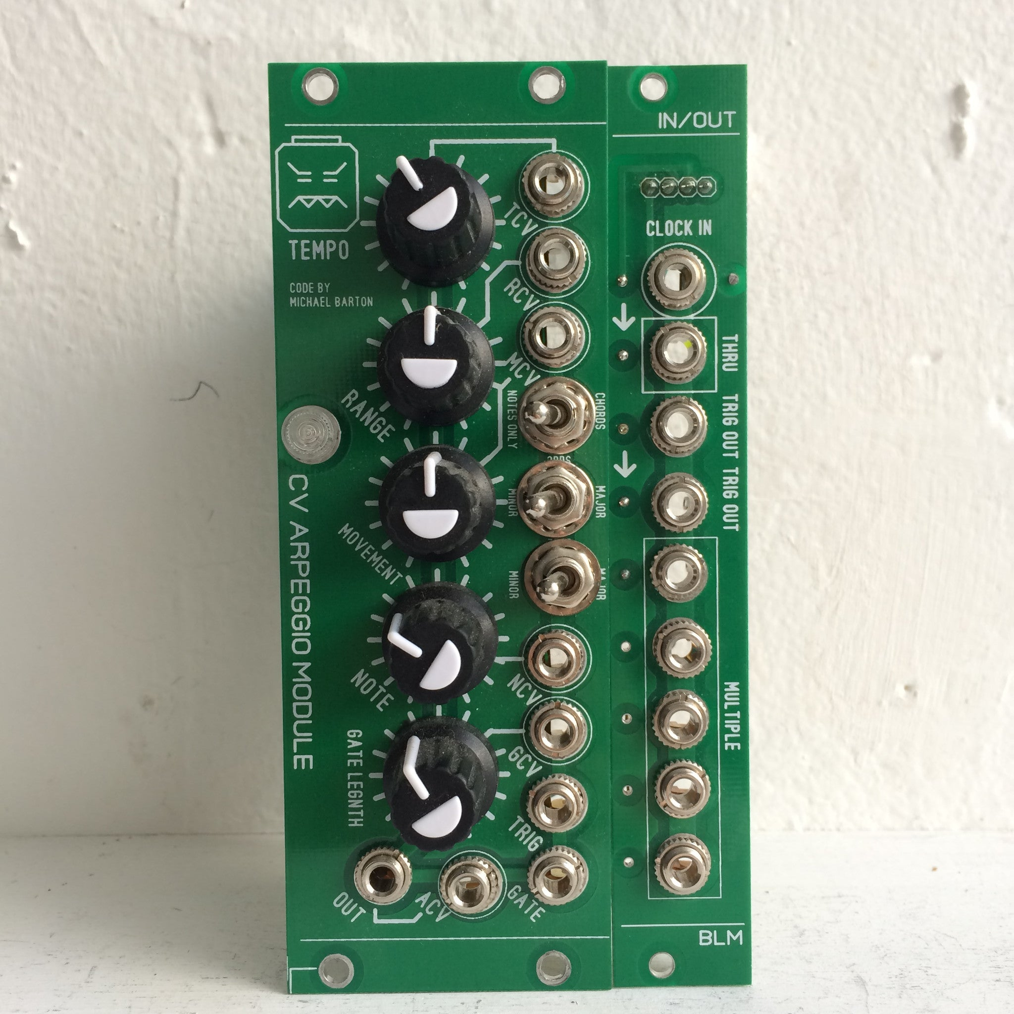 Blue Lantern CV Arpeggio Module with Expansion