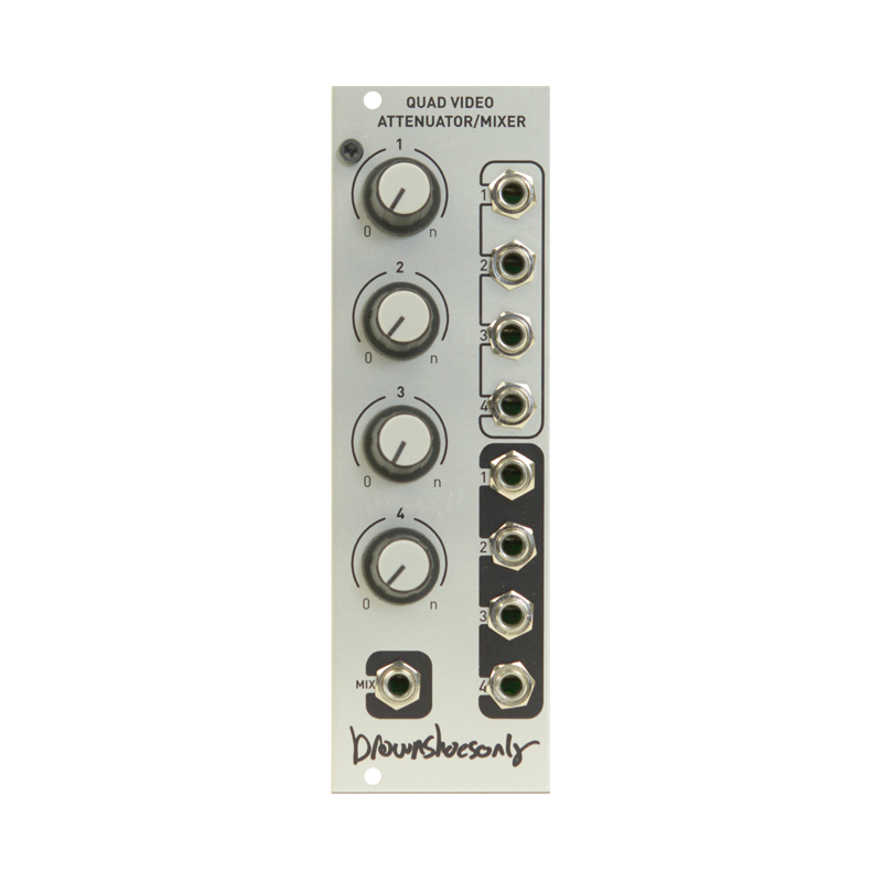 Quad Video Attenuator/Mixer