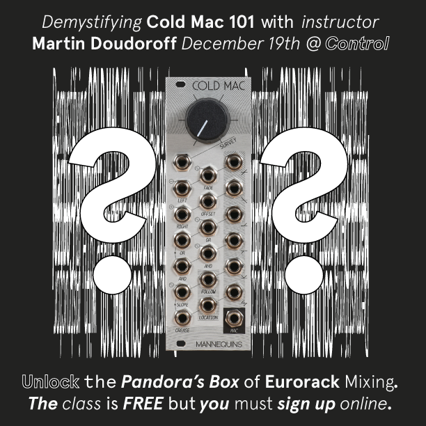 Demystifying Cold Mac 101 Lecture Class