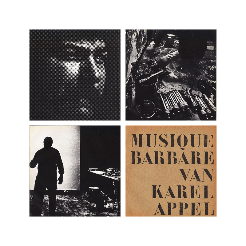 "Karel Appel ""Musique Barbare"" (Netherlands) CP093 CDr"