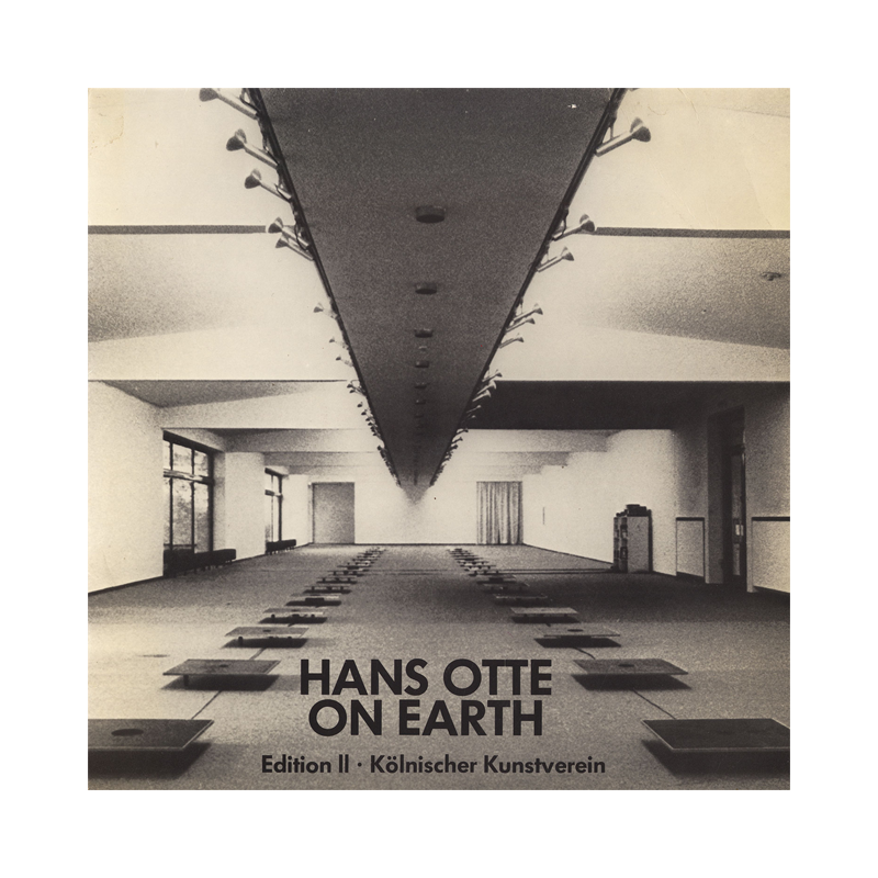 "Hans Otte ""On Earth"" (Germany) CP159 CDr"