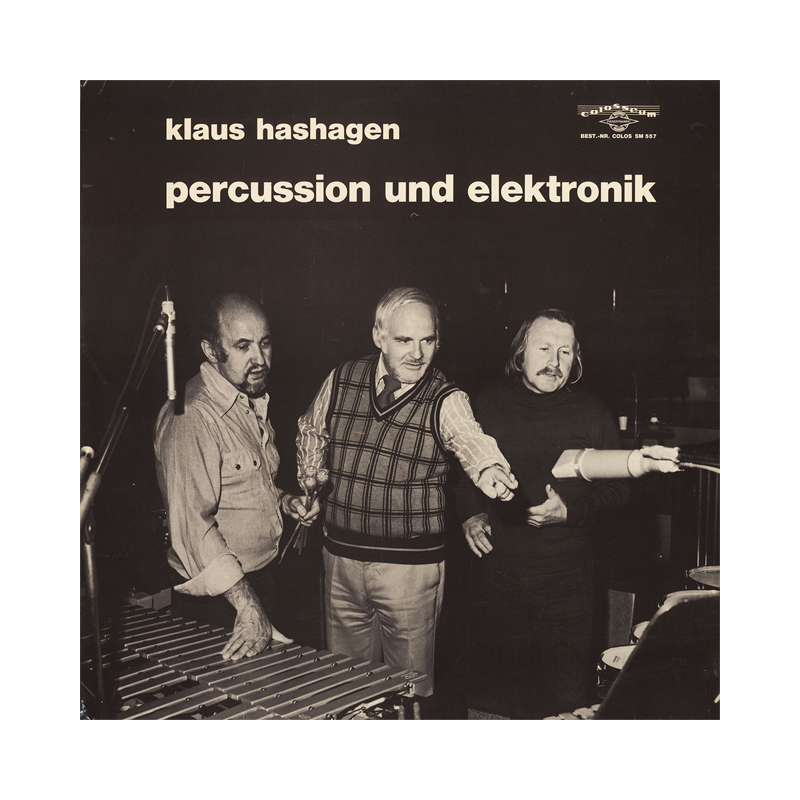 "Klaus Hashagen ""Percussion und Elektronik"" (Germany) CP174 CDr"