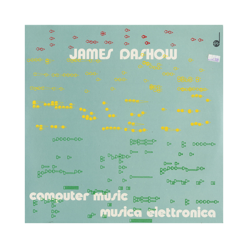"James Dashow ""Computer Music / Musica Elettronica"" (Italy) CP175 CDr"