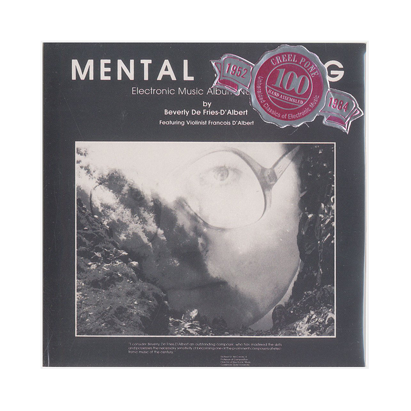 "Beverly De Fries-D'Albert ""Mental Sailing"" (USA) CP182 CDr"