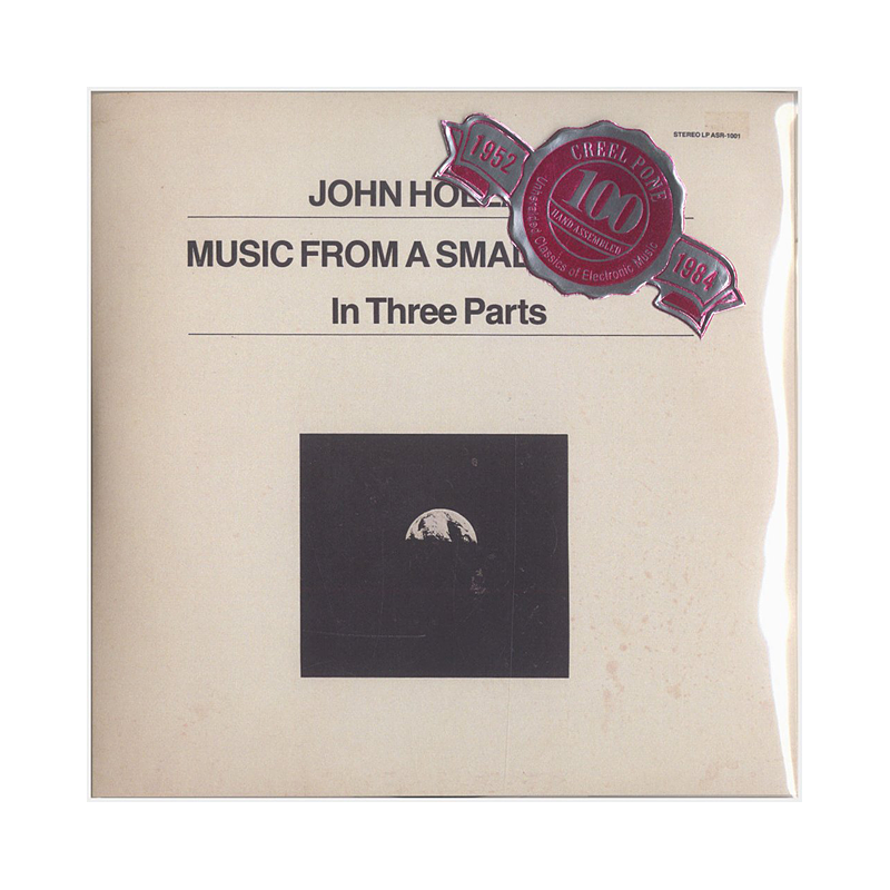 "John Holland ""Music From A Small Planet, Paths Of Motion"" (USA) CP198-198.5 Double CDr"
