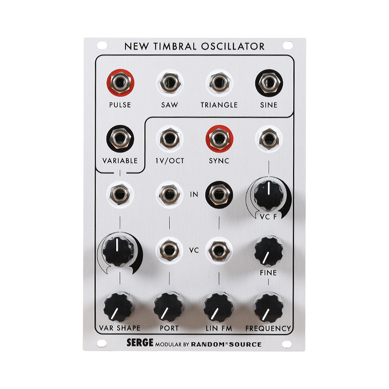 Serge New Timbral Oscillator (NTO) Assembled