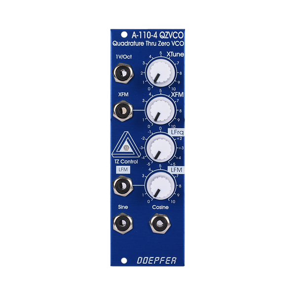 A-110-4SE Thru Zero Quadrature VCO Special Edition Blue/White