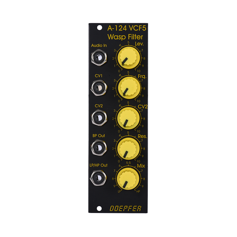 A-124SE Wasp Filter Special Edition (Black/Yellow)