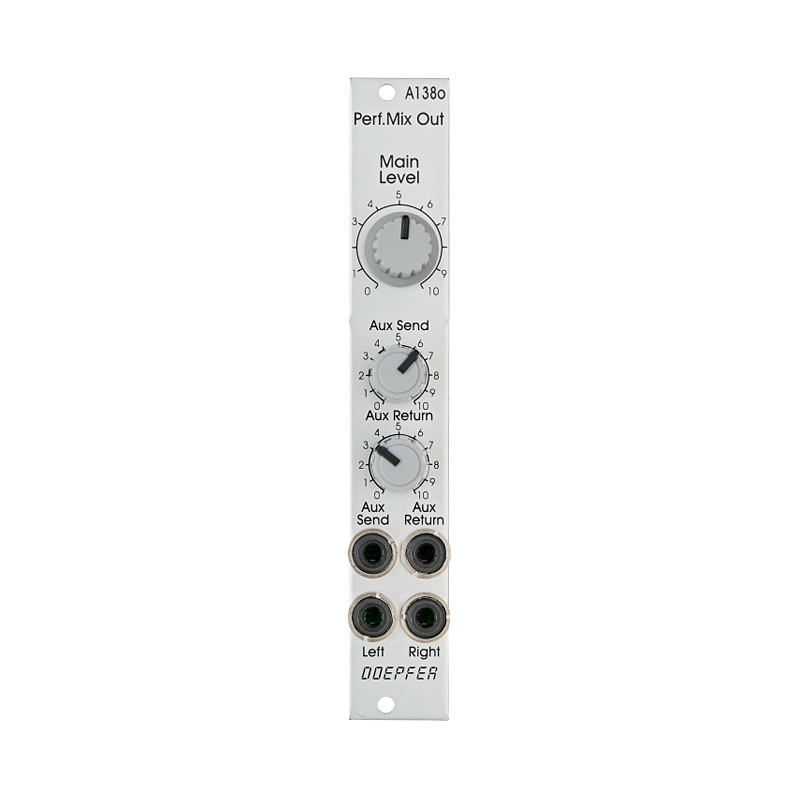A-138o Performance Mixer Output